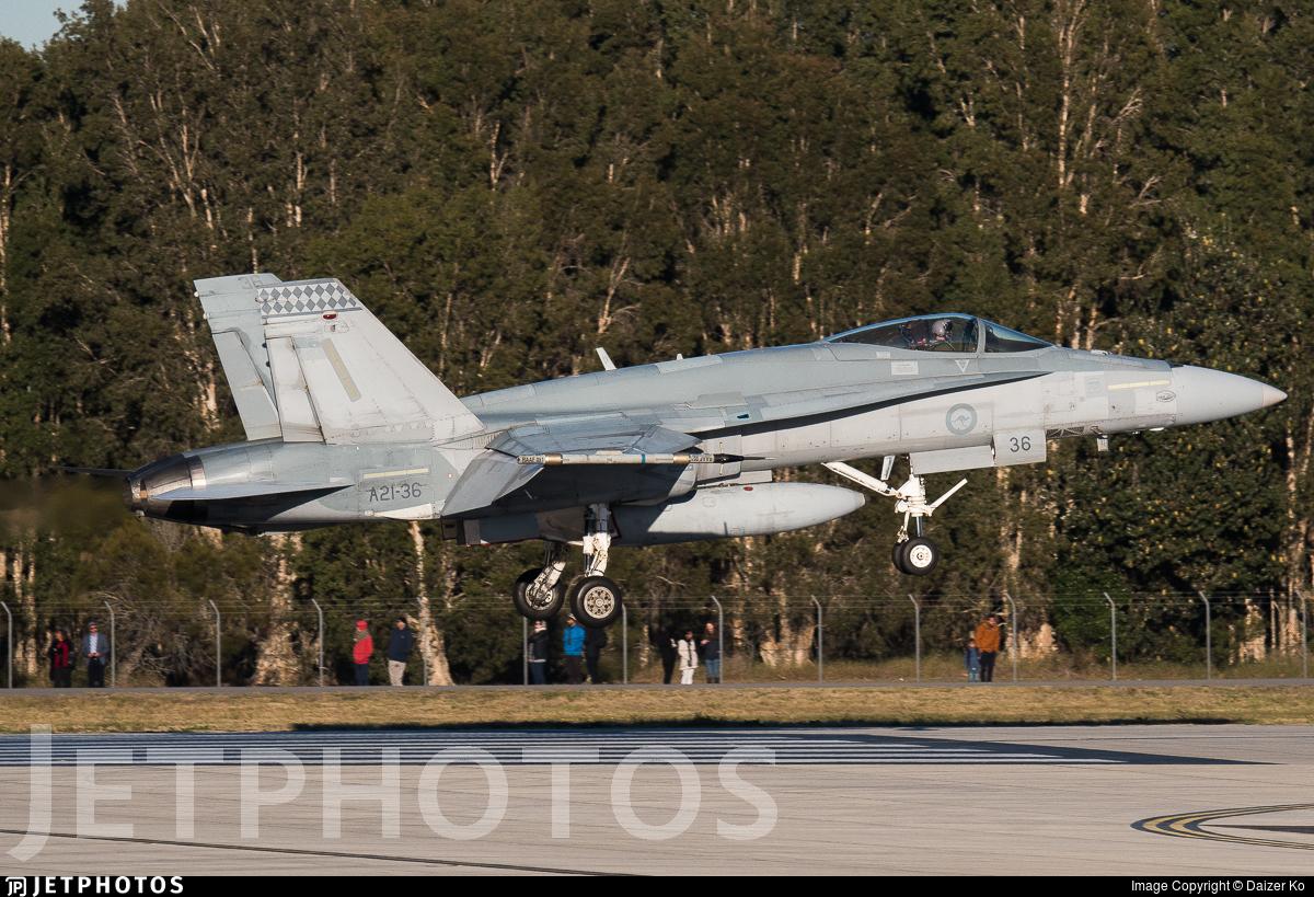 A21-36 - McDonnell Douglas F/A-18A Hornet - Australia - Royal Australian Air Force (RAAF)