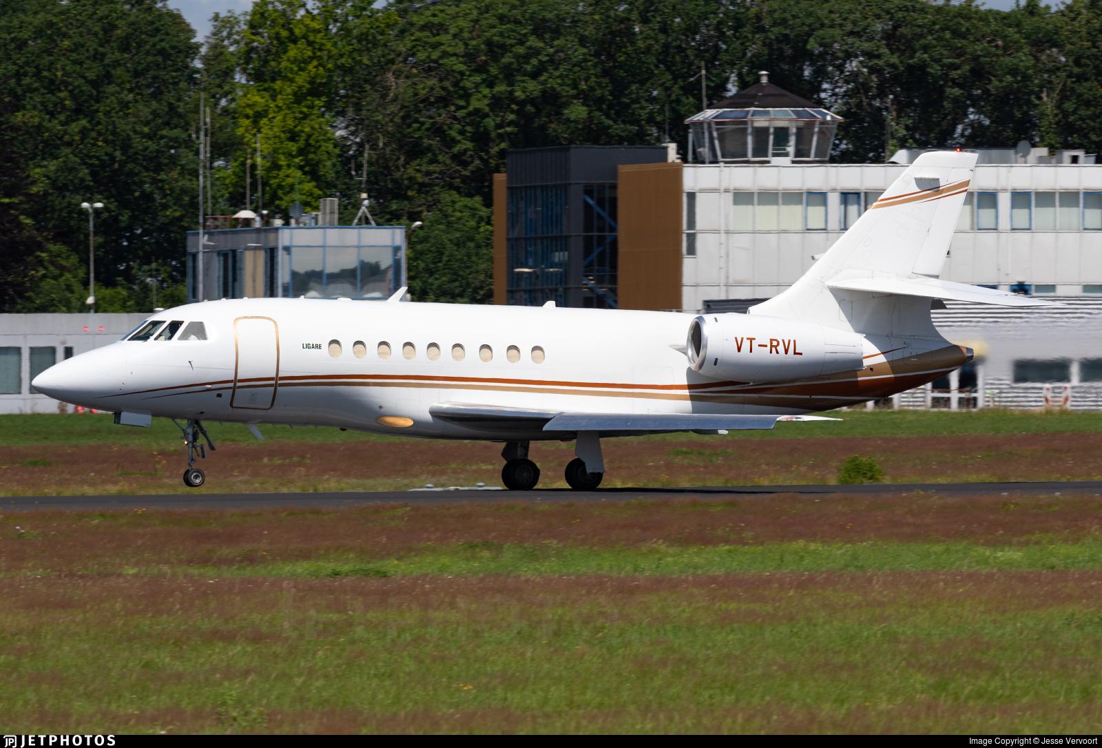 VT-RVL - Dassault Falcon 2000 - Religare Aviation