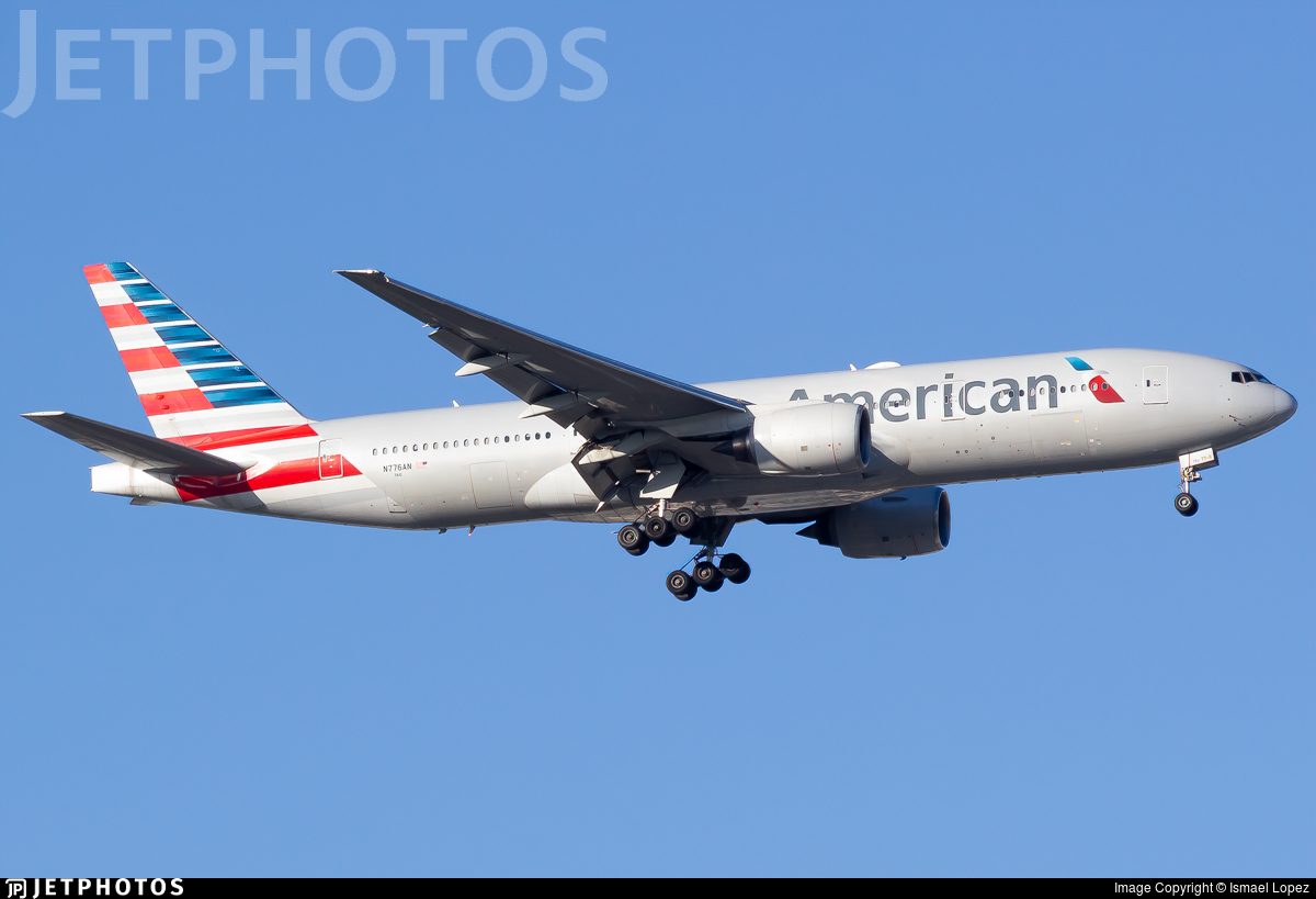 N776AN - Boeing 777-223(ER) - American Airlines
