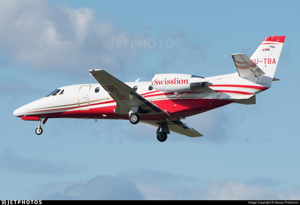 YU-TBA - Cessna 560XL Citation XLS+ - Air Swisslion