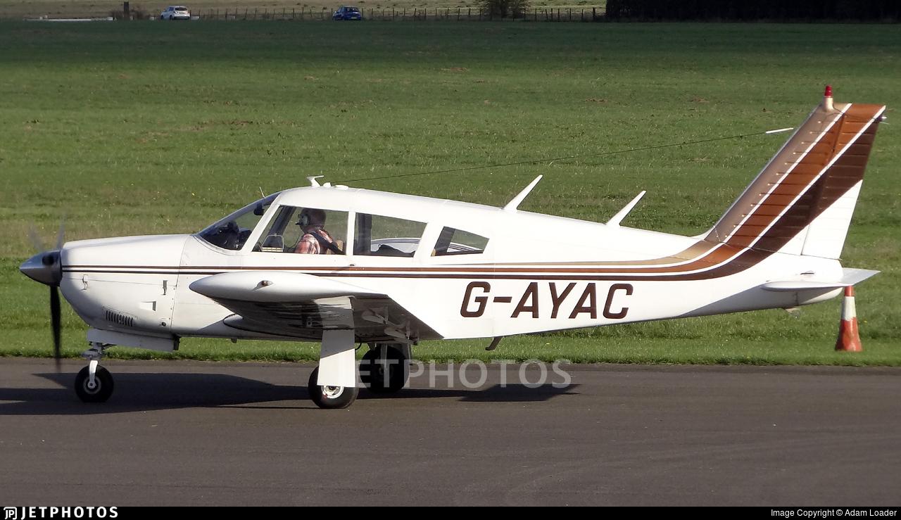 G-AYAC - Piper PA-28R-200 Cherokee Arrow - Private