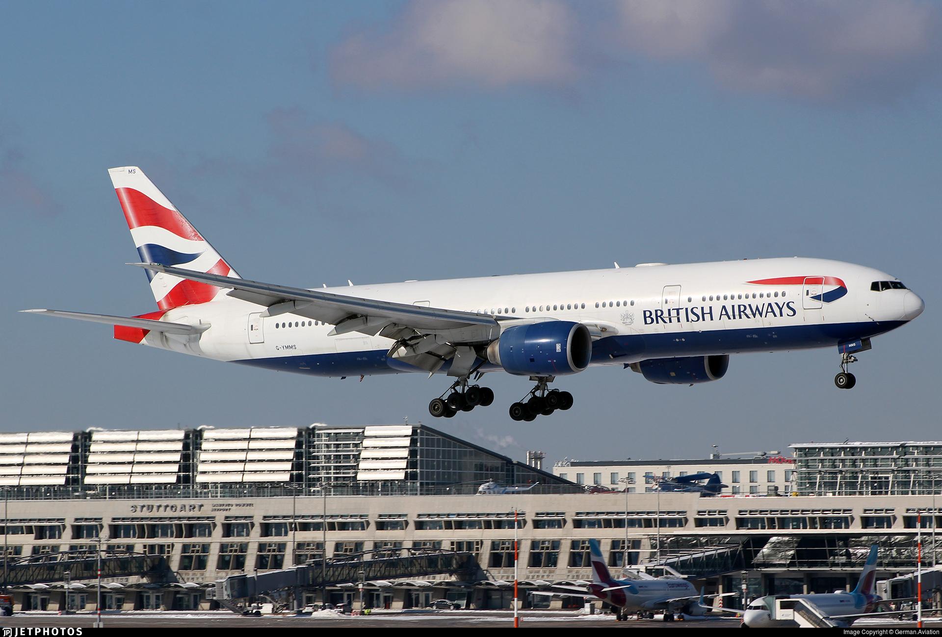 G-YMMS - Boeing 777-236(ER) - British Airways