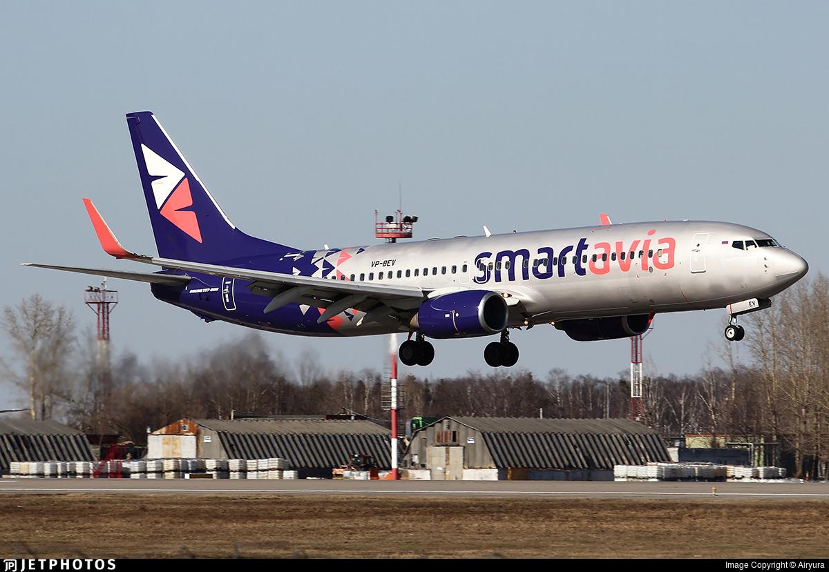 VP-BEV - Boeing 737-89P - Smartavia