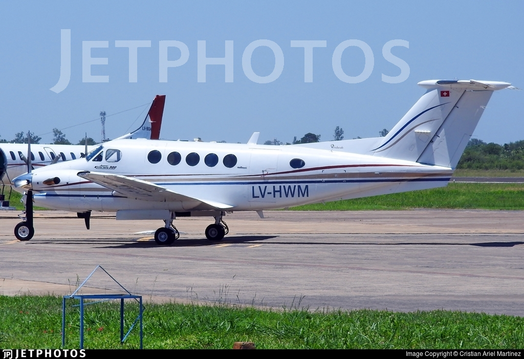 LV-HWM - Beechcraft 300LW Super King Air - Private
