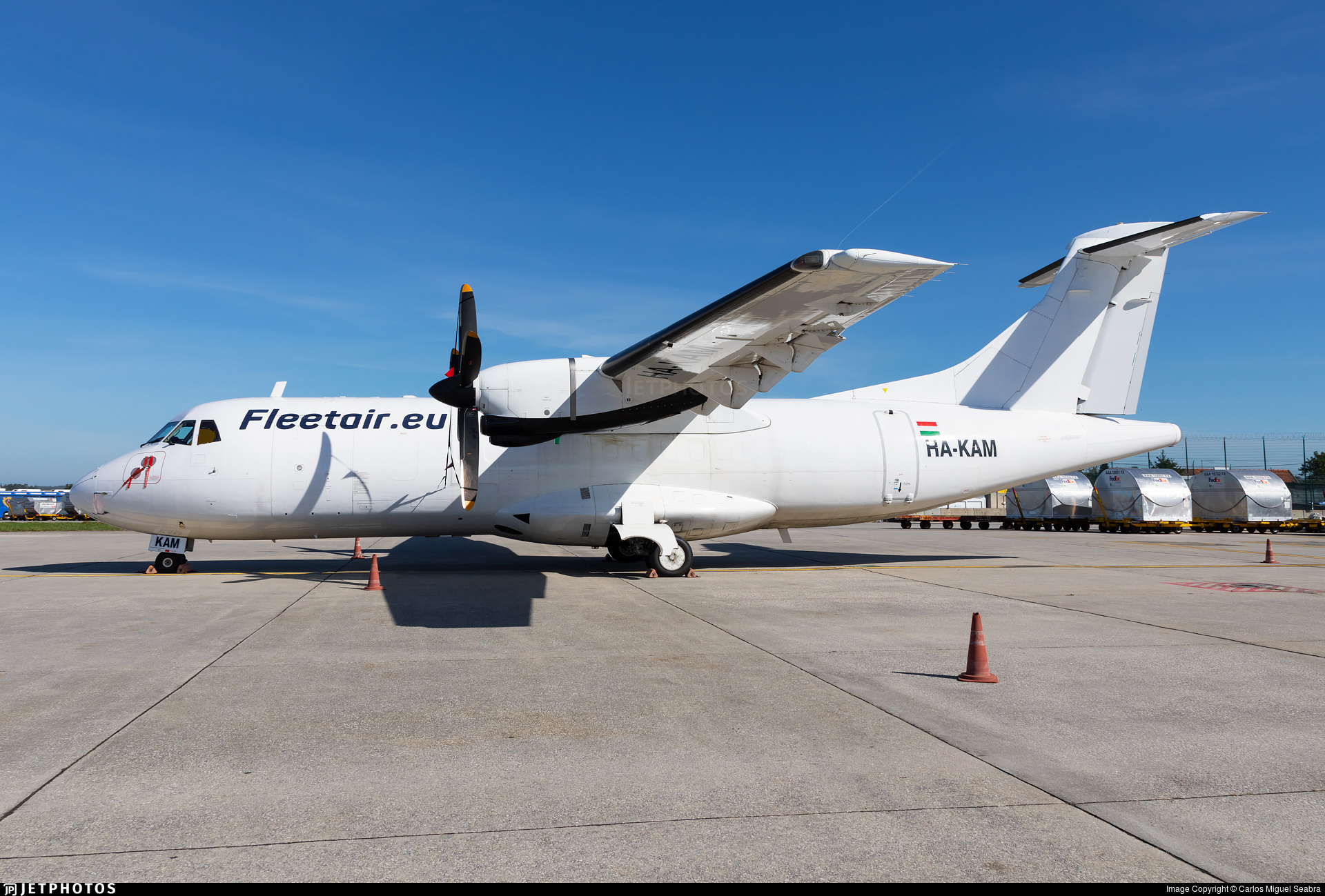 HA-KAM - ATR 42-320(F) - Fleet Air International