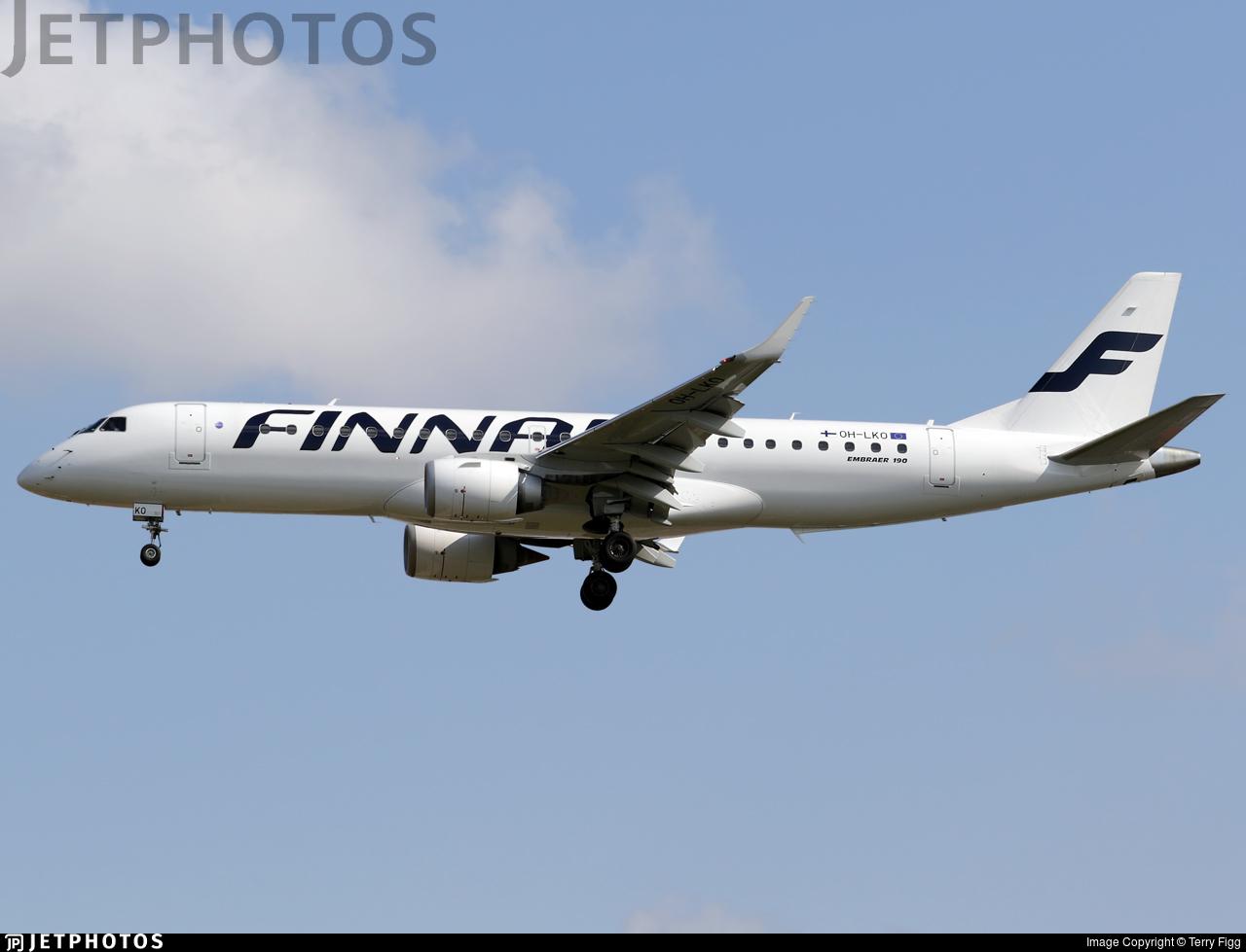 OH-LKO - Embraer 190-100LR - Finnair