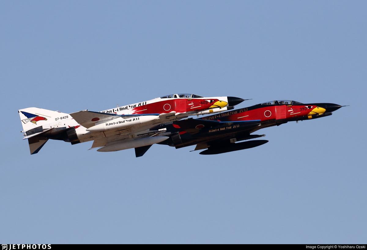 07-8428 - McDonnell Douglas F-4EJ Kai - Japan - Air Self Defence Force (JASDF)