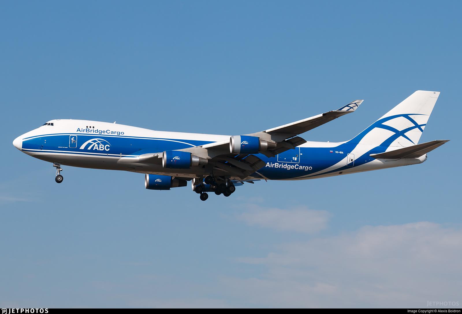 VQ-BIA - Boeing 747-4KZF(SCD) - Air Bridge Cargo
