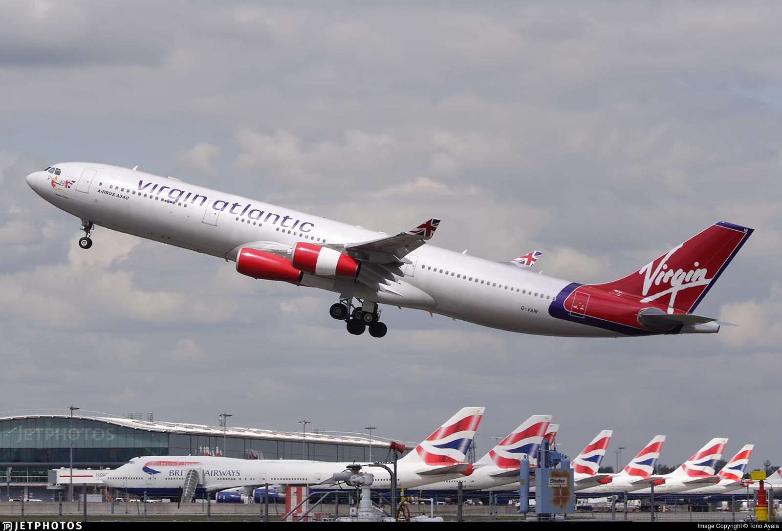 G-VAIR - Airbus A340-313X - Virgin Atlantic Airways