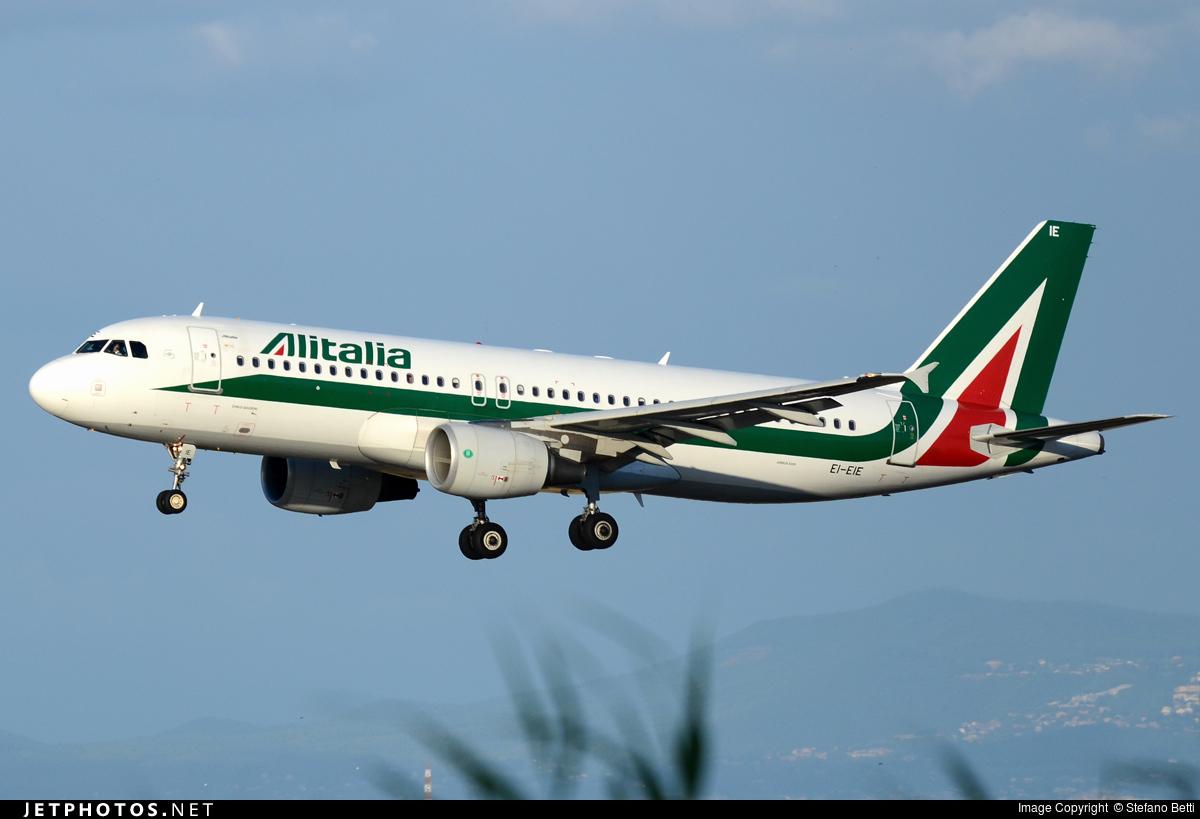EI-EIE - Airbus A320-216 - Alitalia