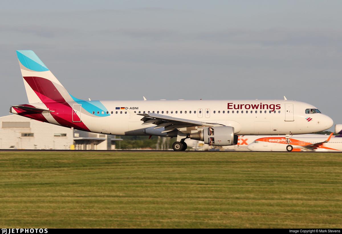 D-ABNI - Airbus A320-214 - Eurowings (LGW Luftfahrtgesellschaft Walter)