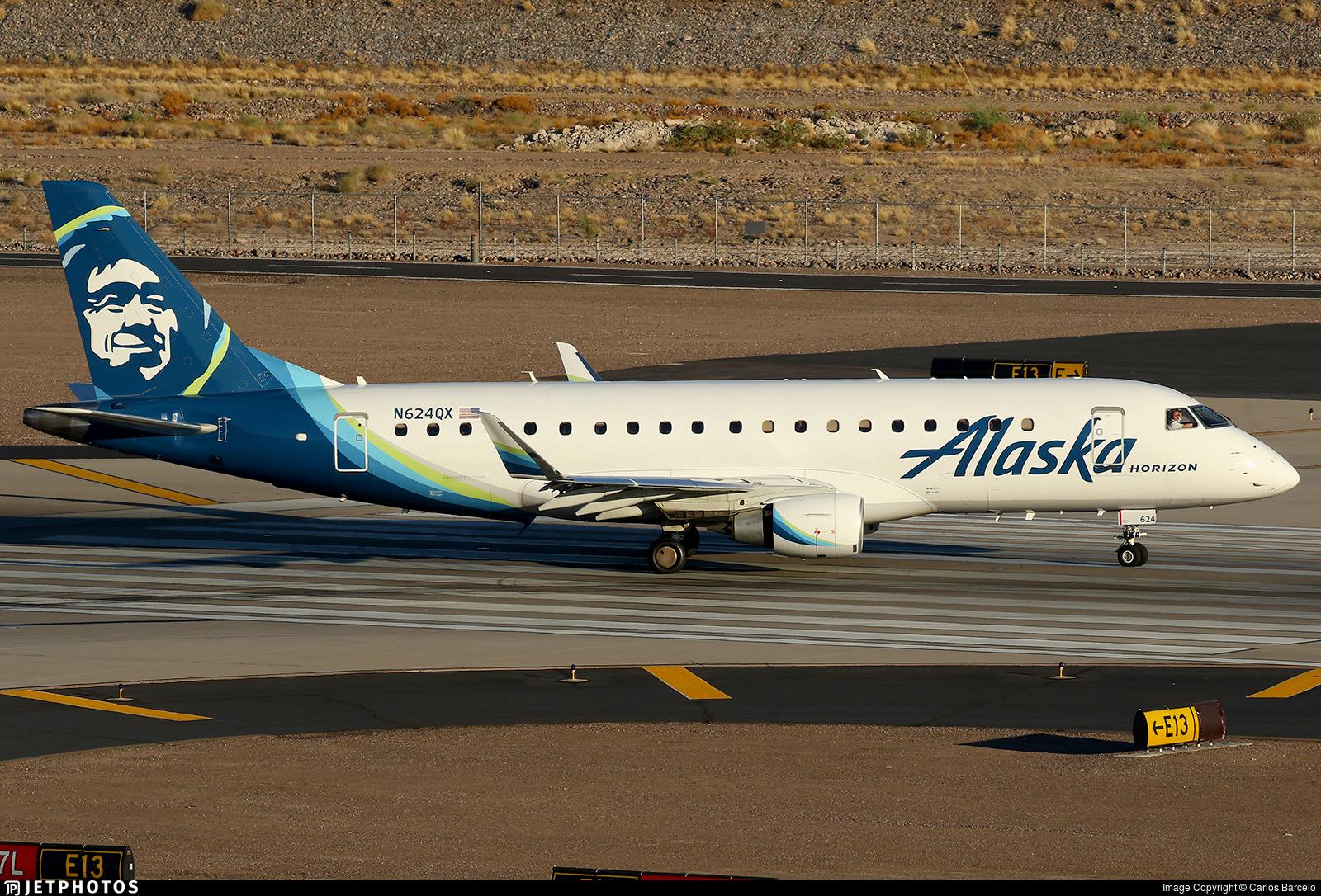 N624QX - Embraer 170-200LR - Alaska Airlines (Horizon Air)