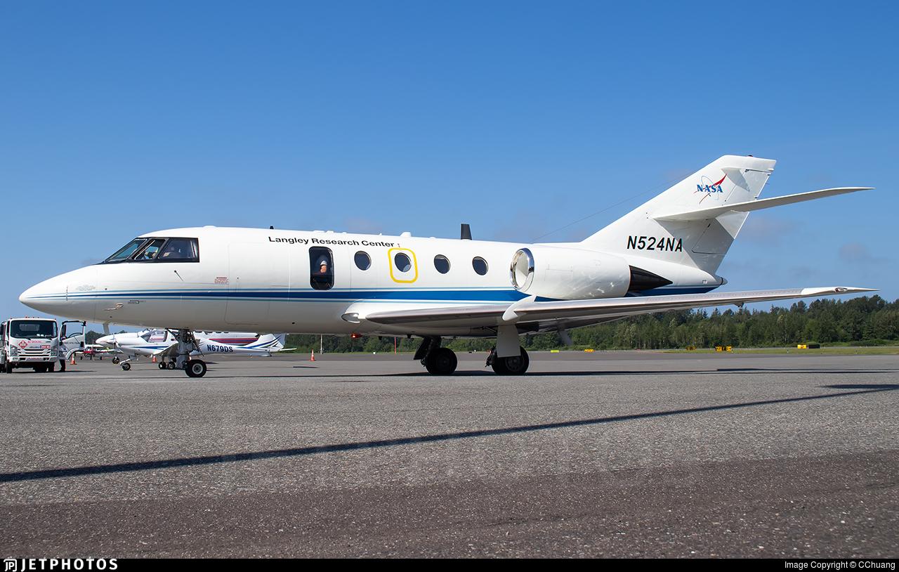 N524NA - Dassault HU-25A Guardian - United States - National Aeronautics and Space Administration (NASA)