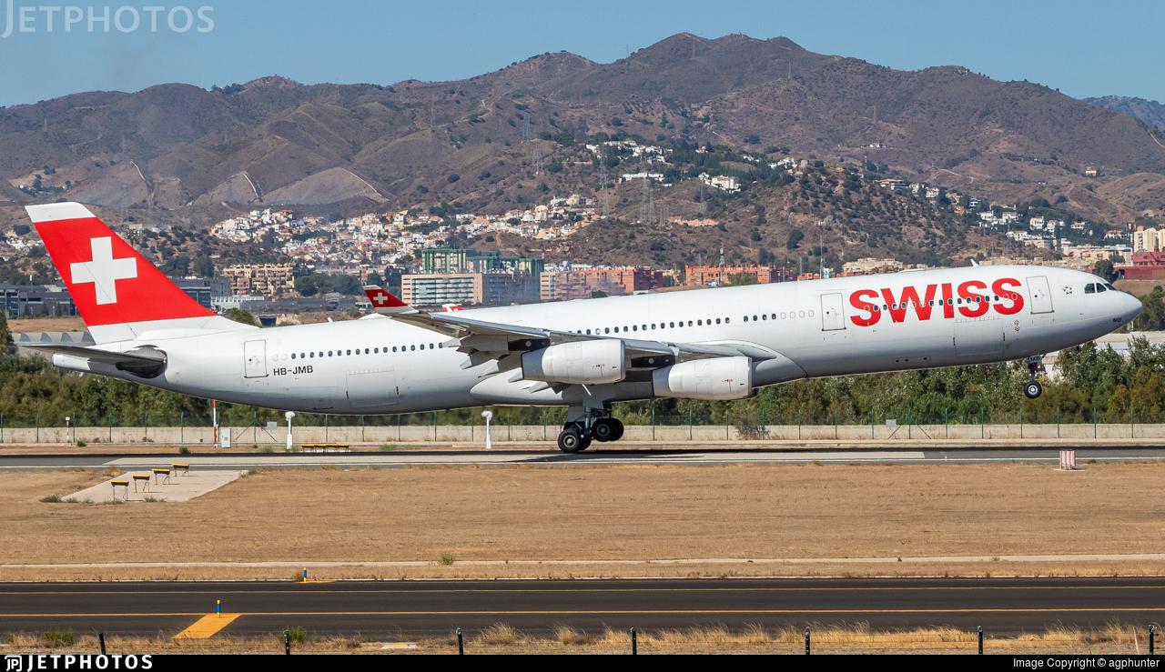 HB-JMB - Airbus A340-313X - Swiss