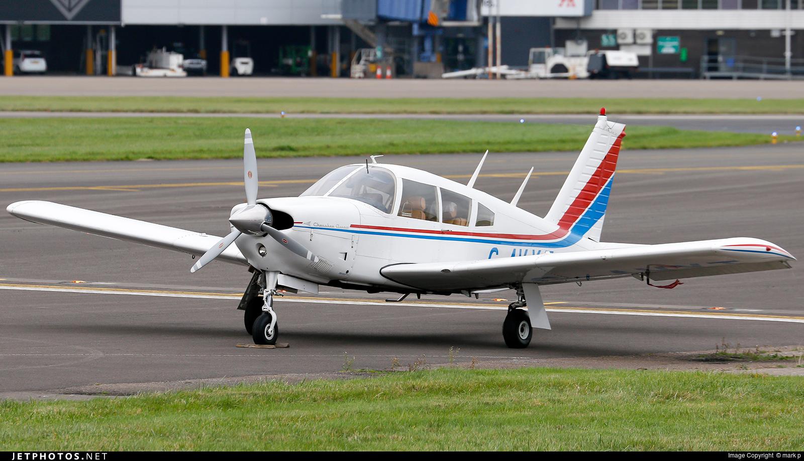 G-AVYT - Piper PA-28R-180 Cherokee Arrow - Private