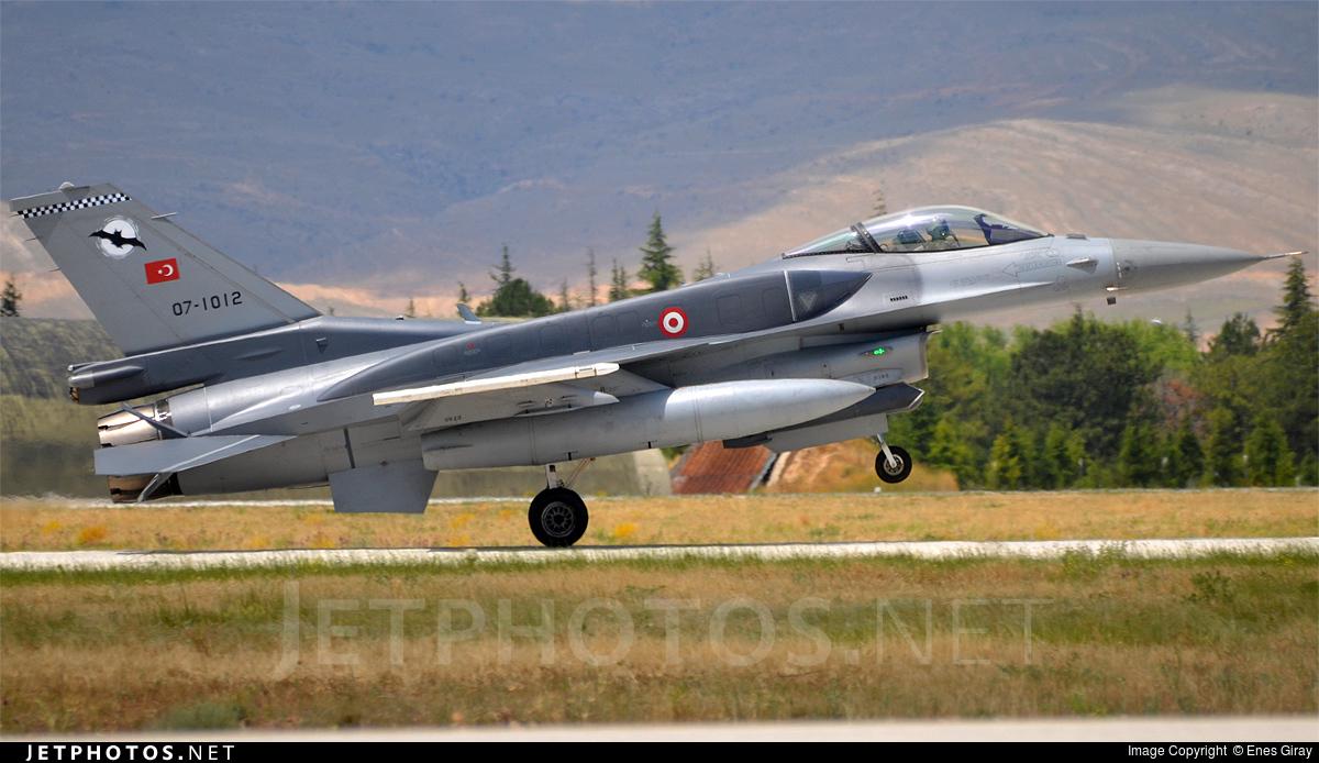 07-1012 - Lockheed Martin F-16C Fighting Falcon - Turkey - Air Force