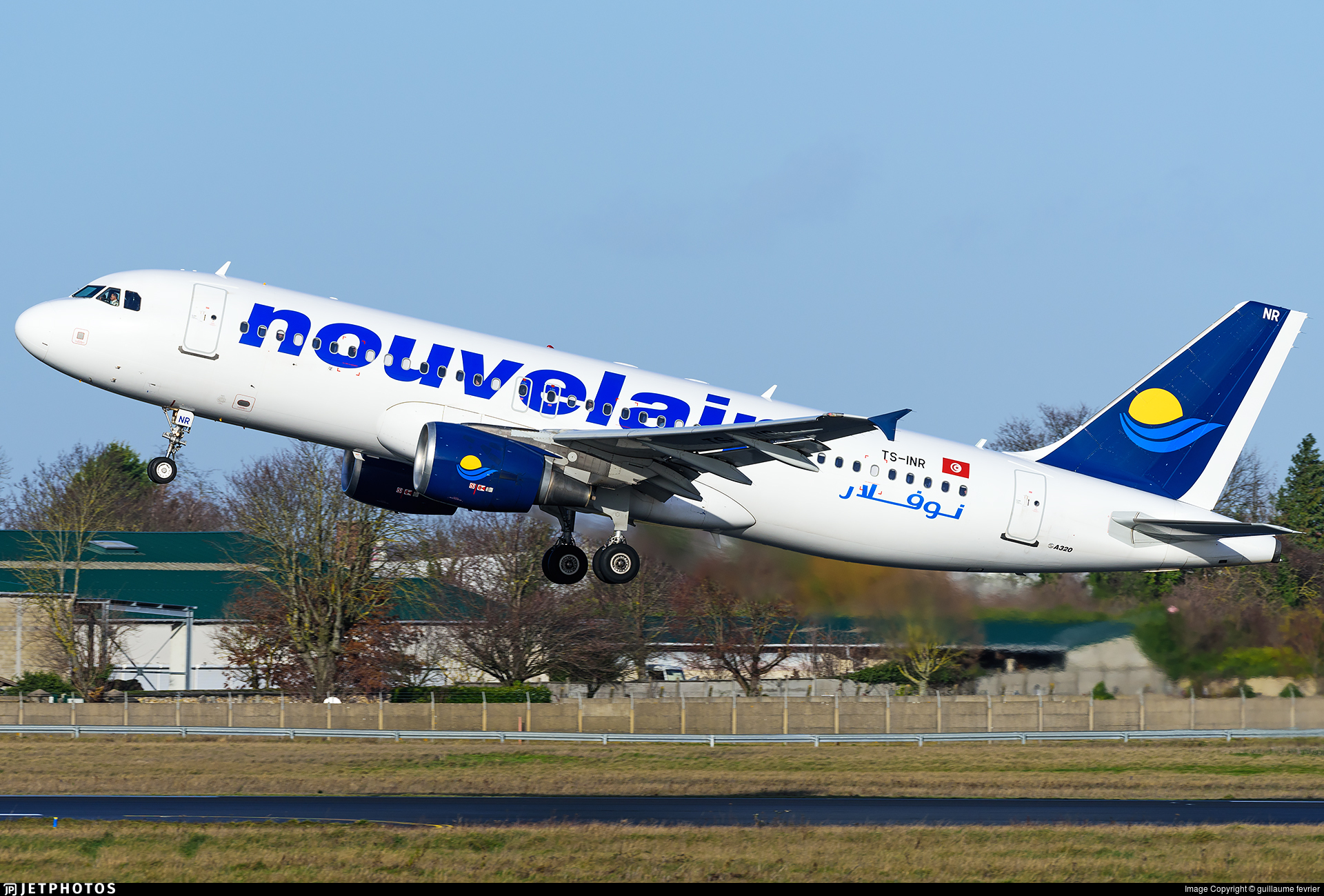 TS-INR - Airbus A320-214 - Nouvelair