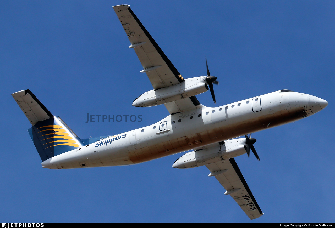 VH-XFW - Bombardier Dash 8-314 - Skippers Aviation