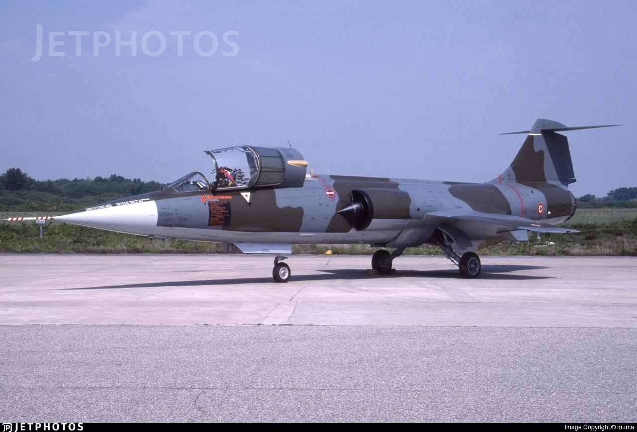 MM6815 - Lockheed F-104S ASA-M Starfighter - Italy - Air Force