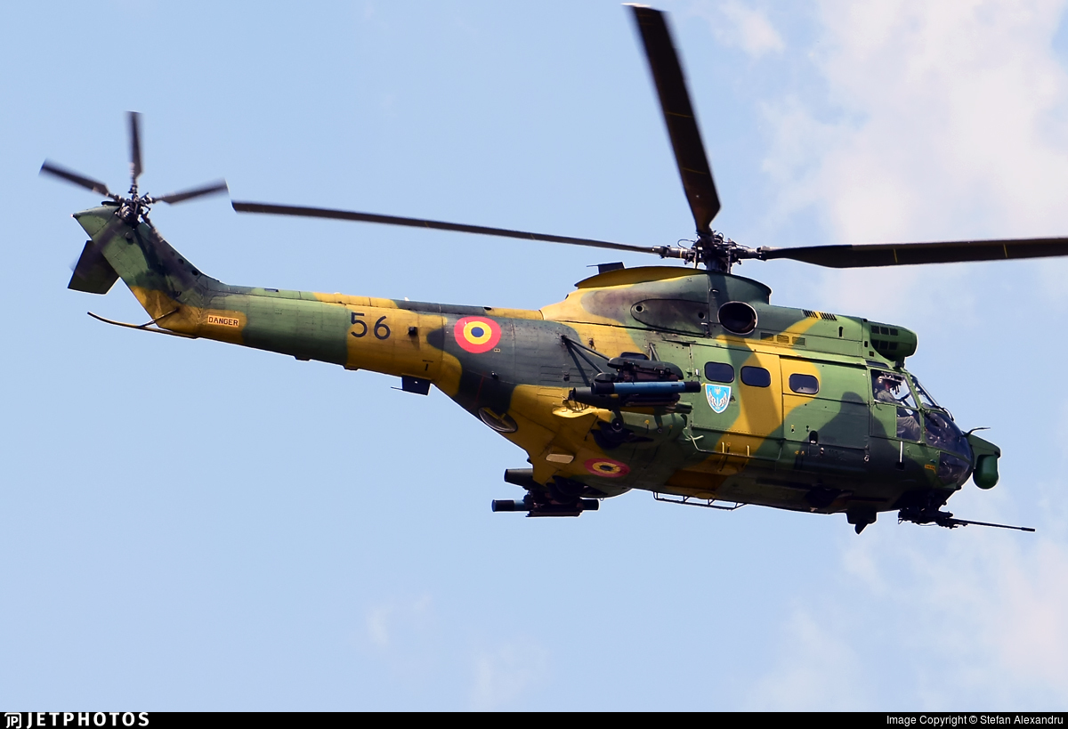 56 - IAR-330L Puma SOCAT - Romania - Air Force