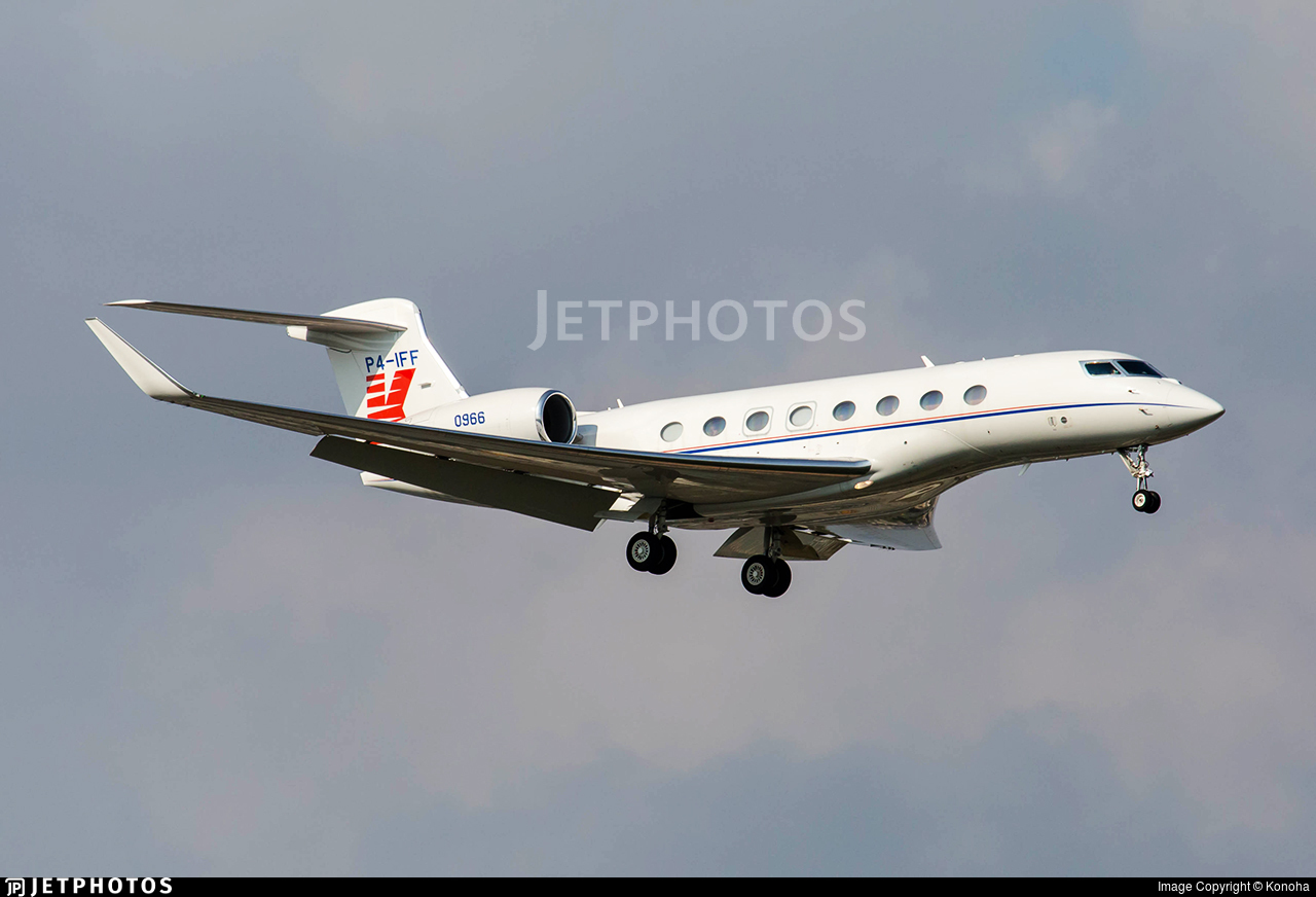 P4-IFF - Gulfstream G650ER - Private