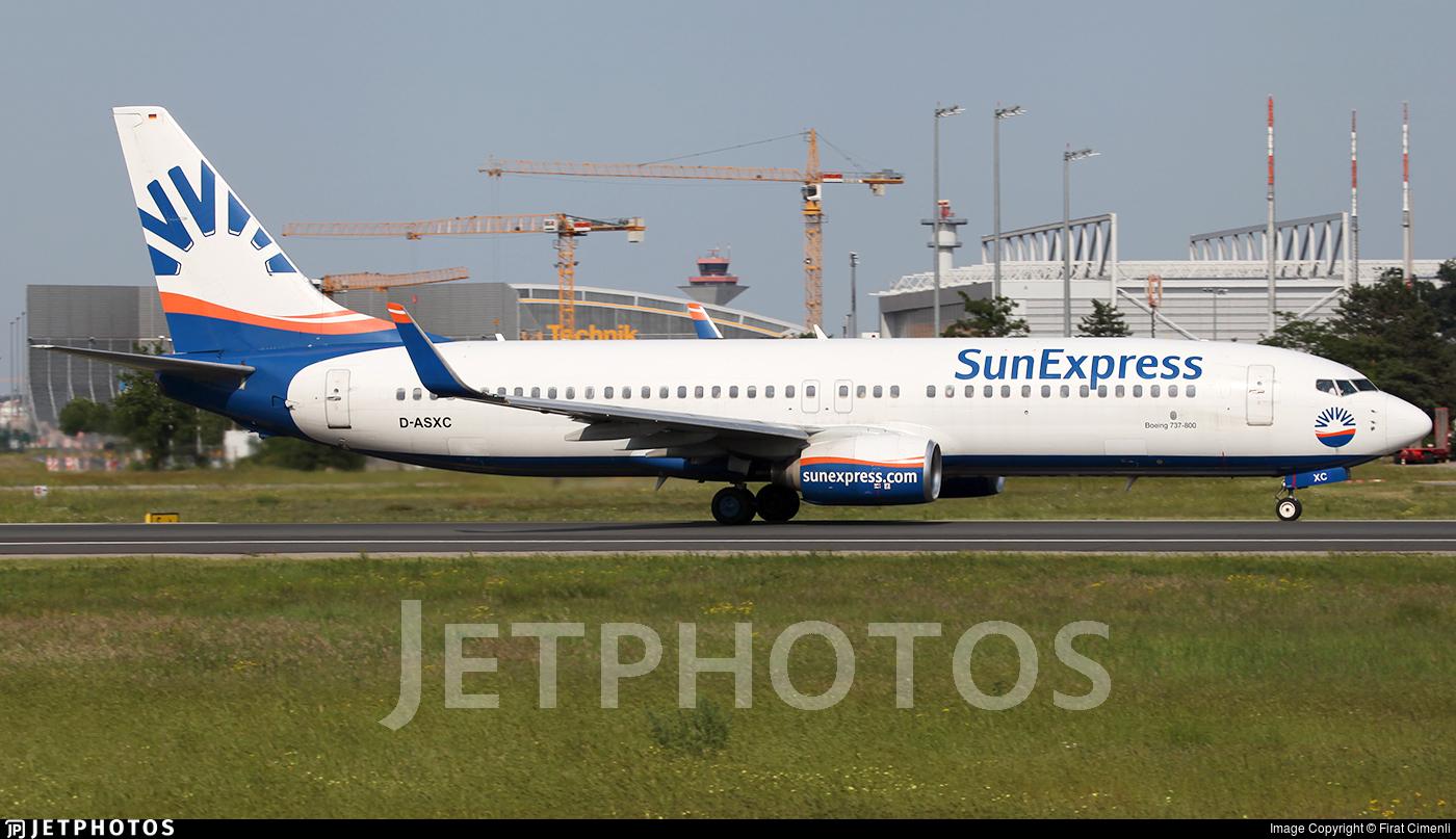 D-ASXC - Boeing 737-86N - SunExpress Germany