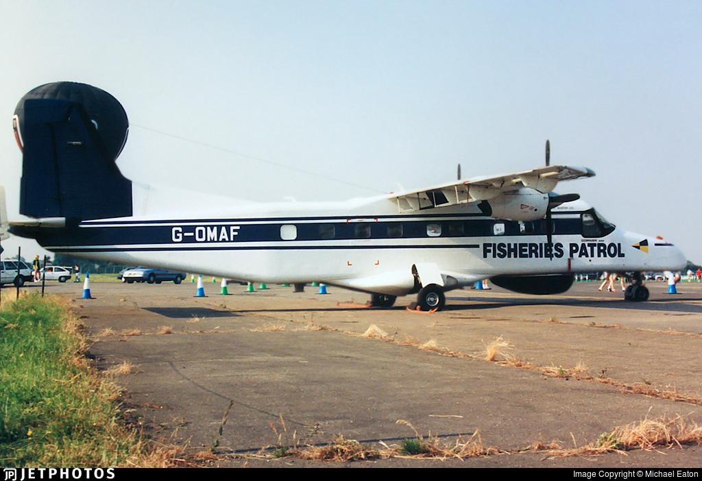 G-OMAF - Dornier Do-228-202K - FR Aviation