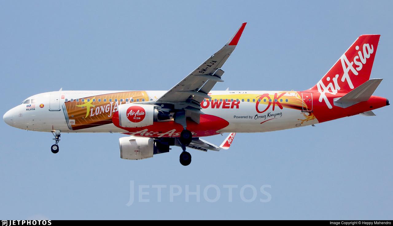 9M-AJA - Airbus A320-216 - AirAsia