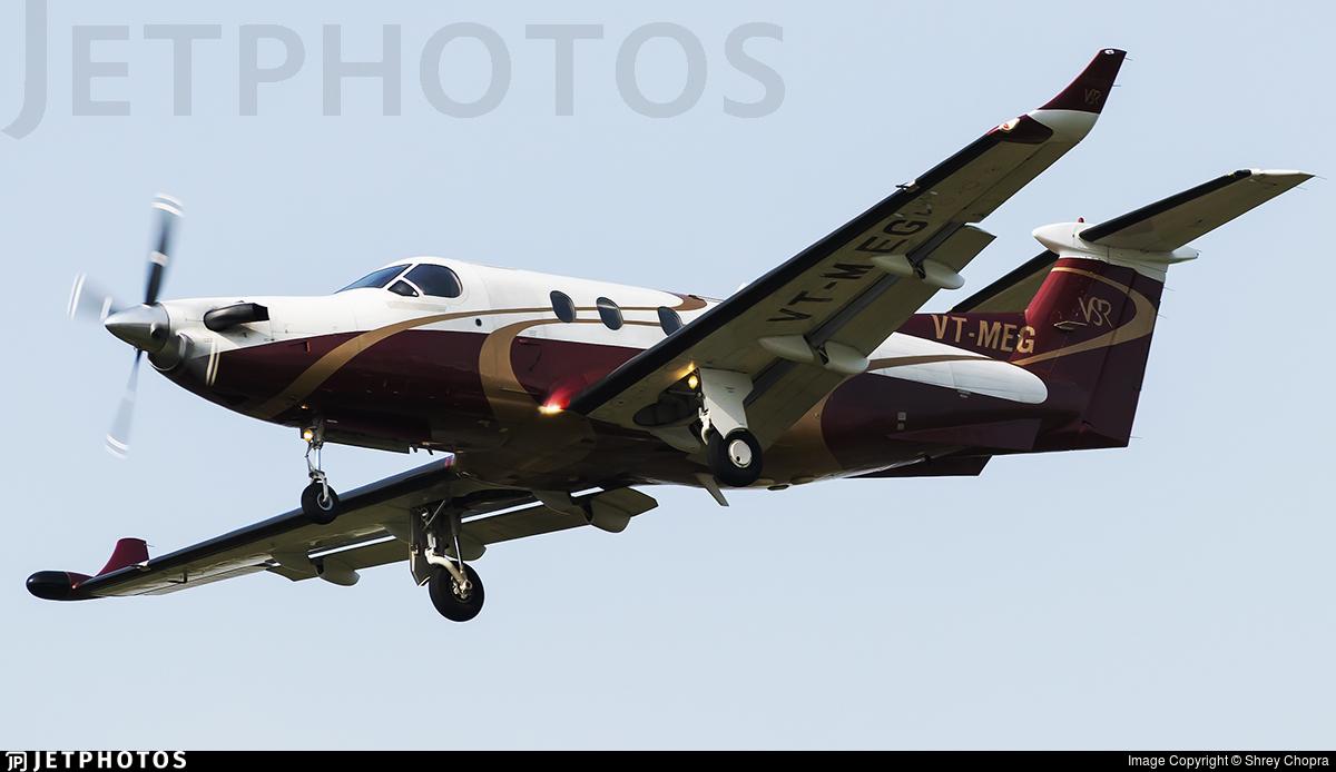 VT-MEG - Pilatus PC-12/45 - VSR Aviation