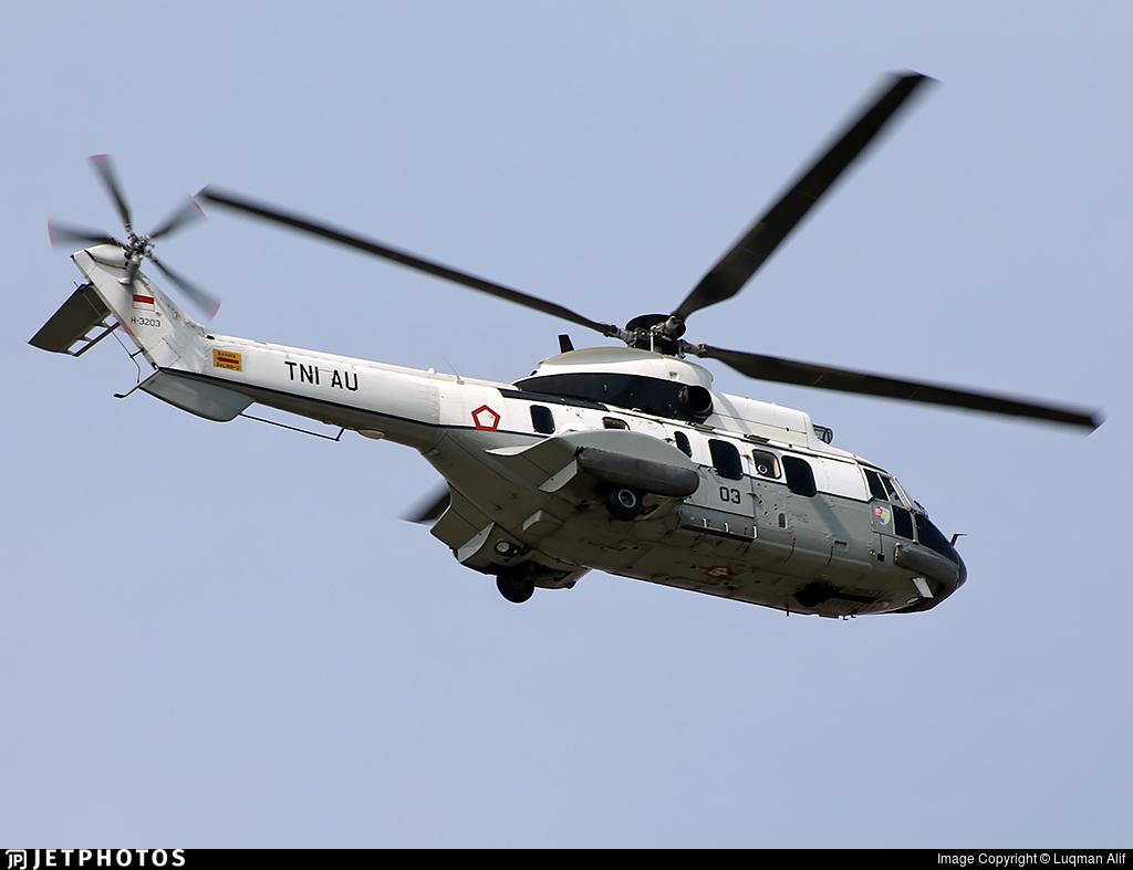 H-3203 - Aérospatiale AS 332L1 Super Puma - Indonesia - Air Force