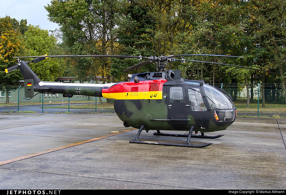 87-78 - MBB Bo105P1 - Germany - Army