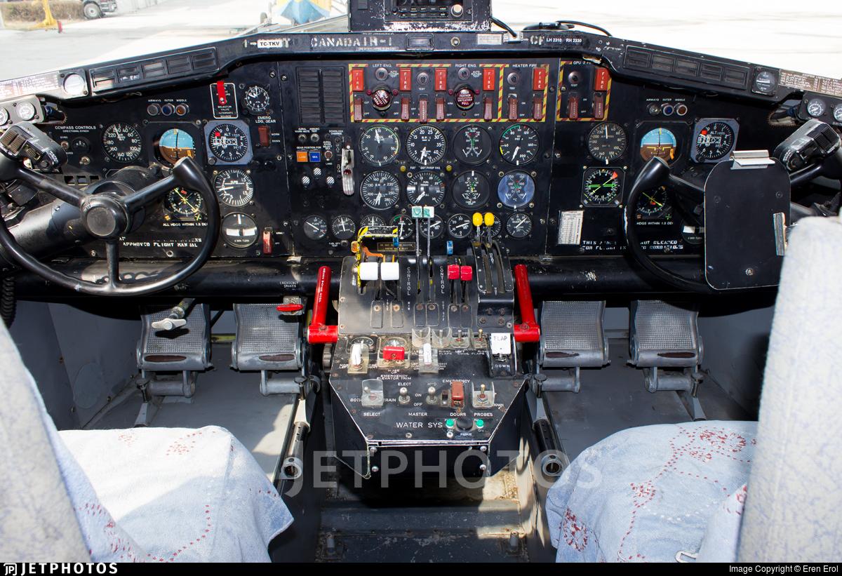 TC-TKV - Canadair CL-215 - Turkey - Turkish Aeronautical Association