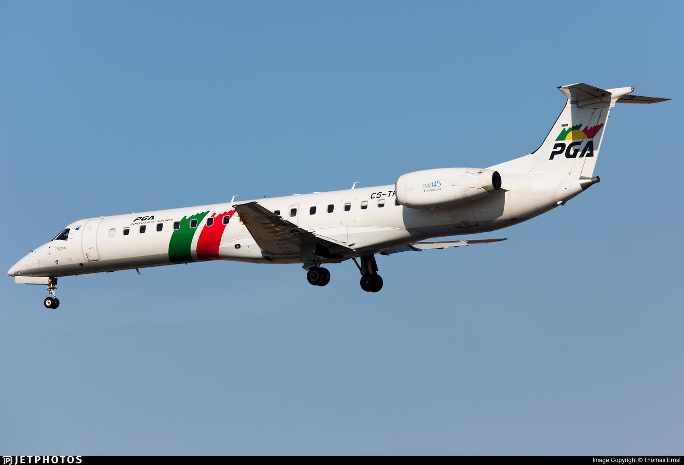 CS-TPJ - Embraer ERJ-145EP - PGA Portug�lia Airlines