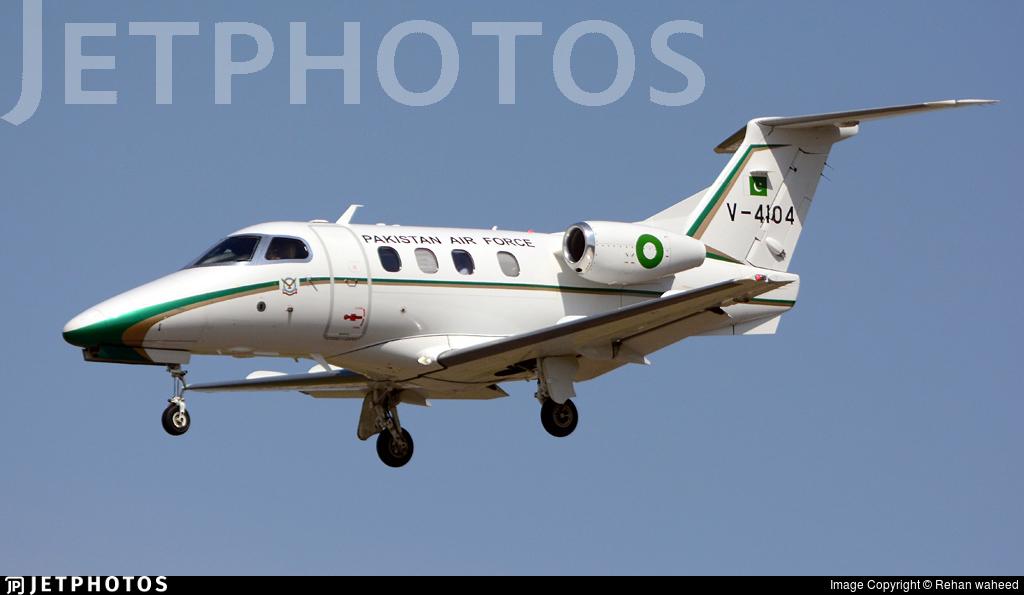 V-4104 - Embraer 500 Phenom 100 - Pakistan - Air Force