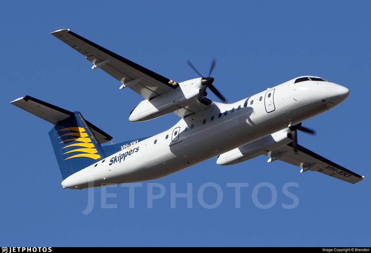 VH-XKI - Bombardier Dash 8-315 - Skippers Aviation