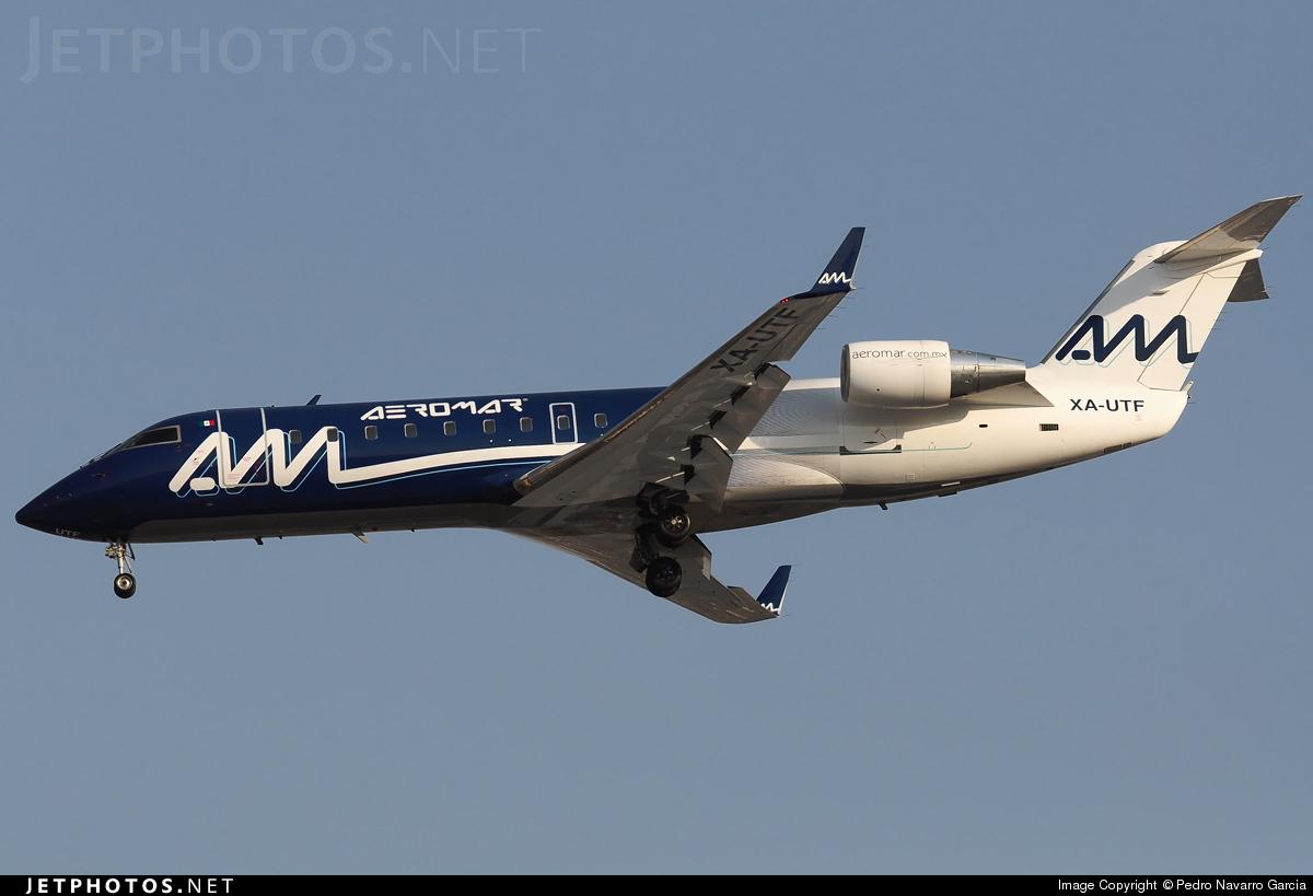 XA-UTF - Bombardier CRJ-200ER - Aeromar
