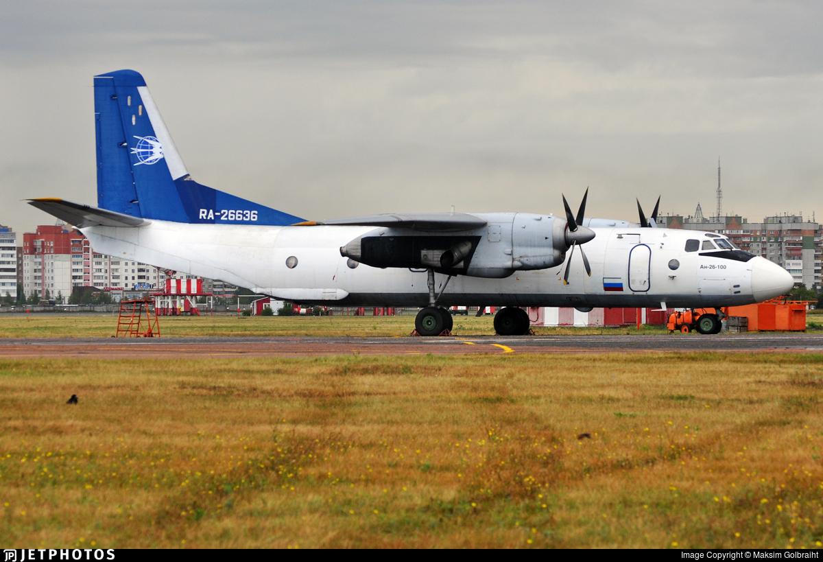 RA-26636 - Antonov An-26B-100 - SevAvia