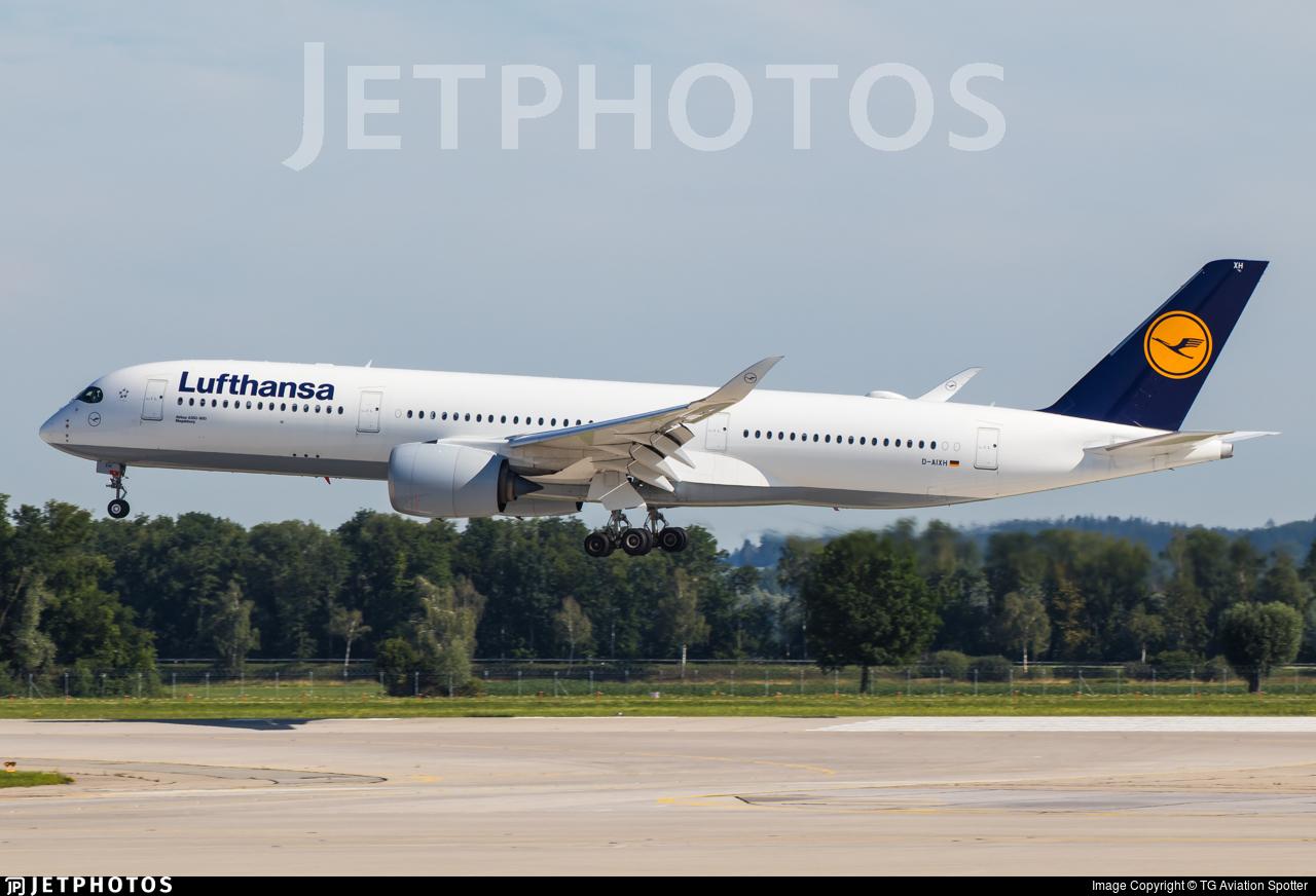 D-AIXH - Airbus A350-941 - Lufthansa