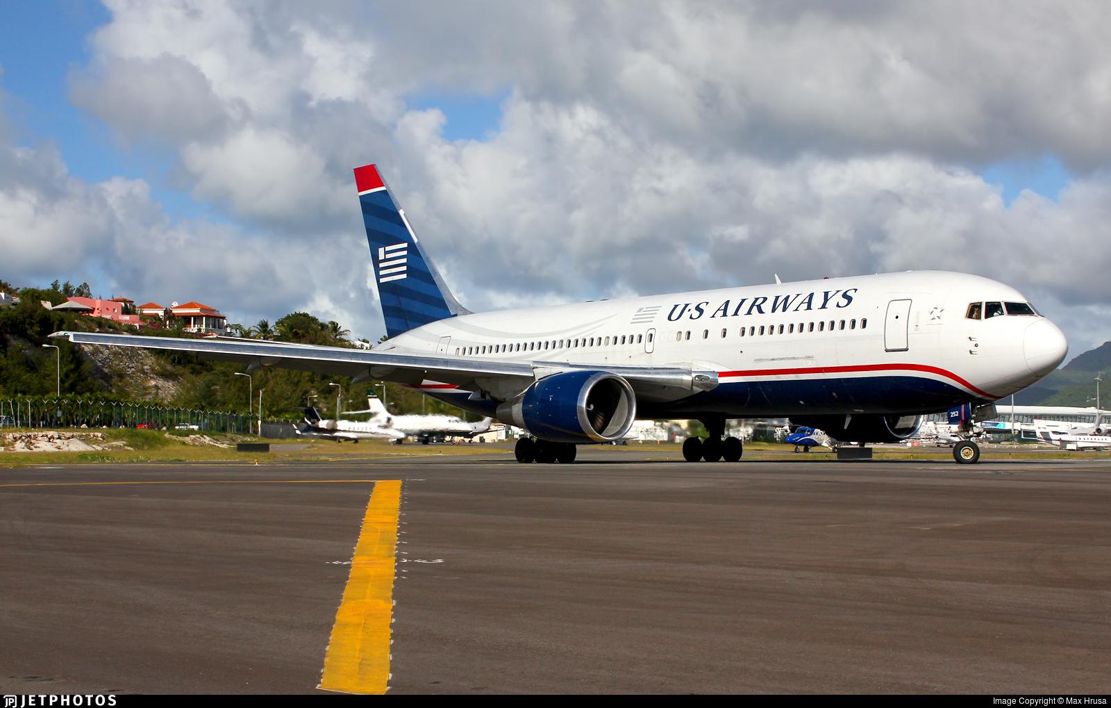 N252AU - Boeing 767-2B7(ER) - US Airways