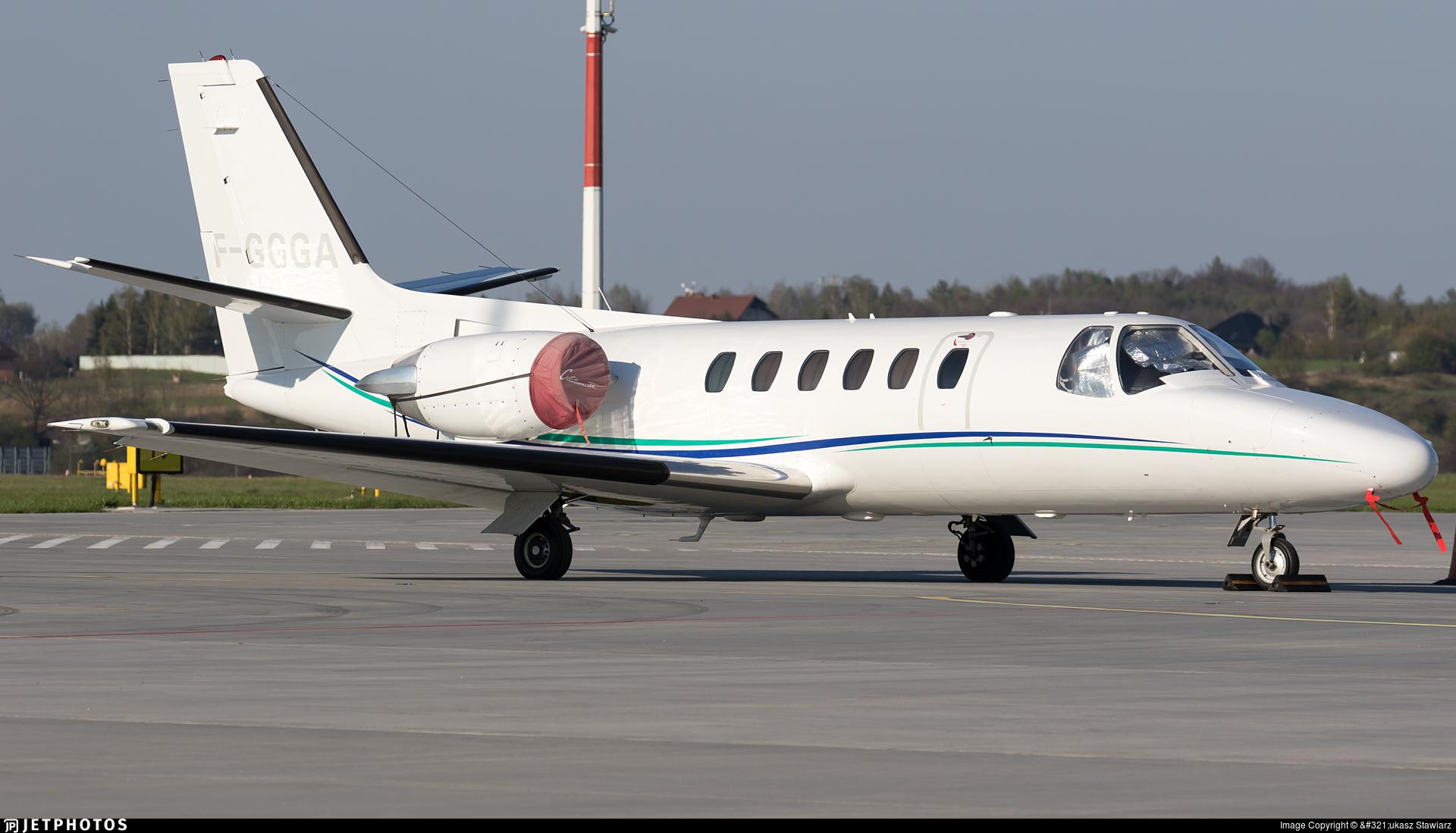 F-GGGA - Cessna 550 Citation II - Aerovision