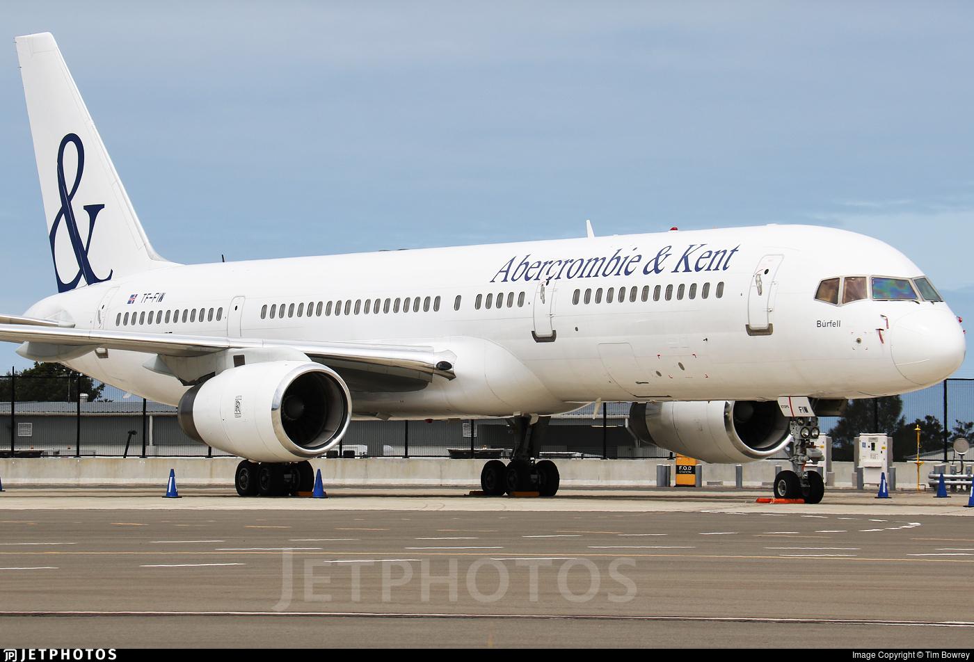 TF-FIW - Boeing 757-27B - Abercrombie & Kent (Icelandair)