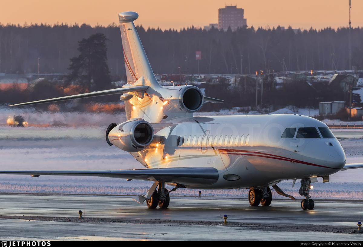 VP-CLS - Dassault Falcon 7X - Private