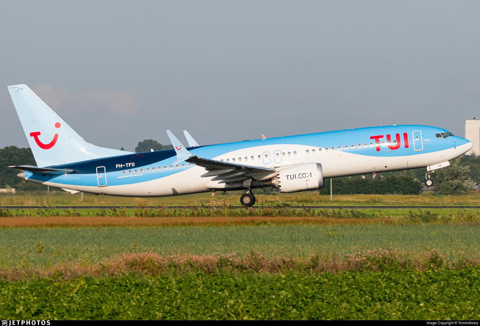 PH-TFO - Boeing 737-8 MAX - TUI