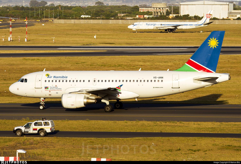 V5-ANN - Airbus A319-112 - Air Namibia