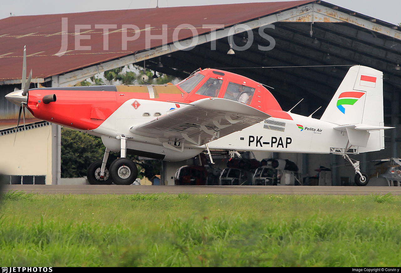 PK-PAP - Air Tractor AT-802 - Pelita Air