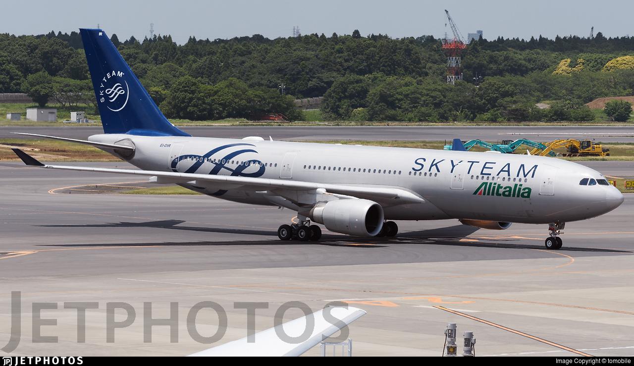 EI-DIR - Airbus A330-202 - Alitalia