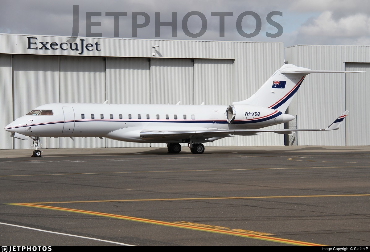 VH-XGQ - Bombardier BD-700-1A10 Global Express XRS - Private