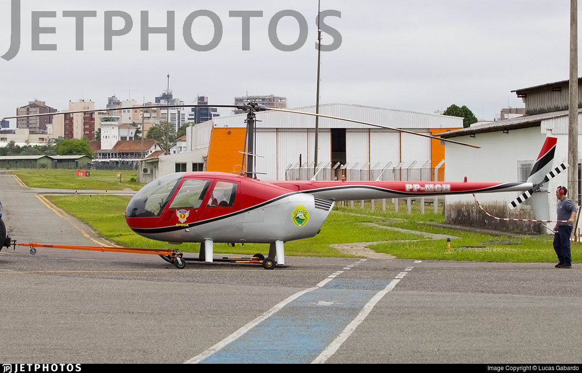 PP-MCH - Robinson R44 Raven II - Brazil - Government of Parana
