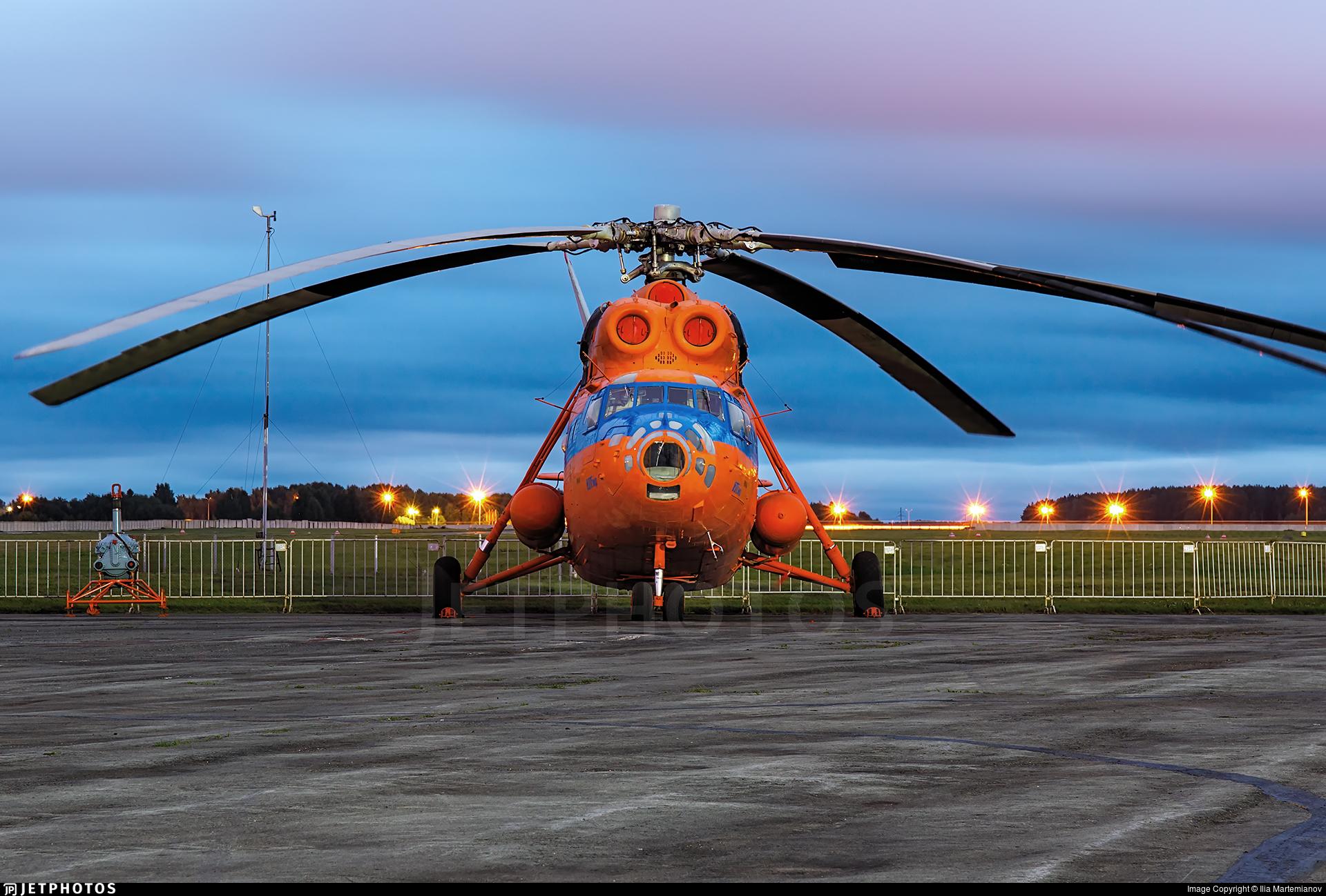 RA-21067 - Mil Mi-6 Hook - UTair Aviation