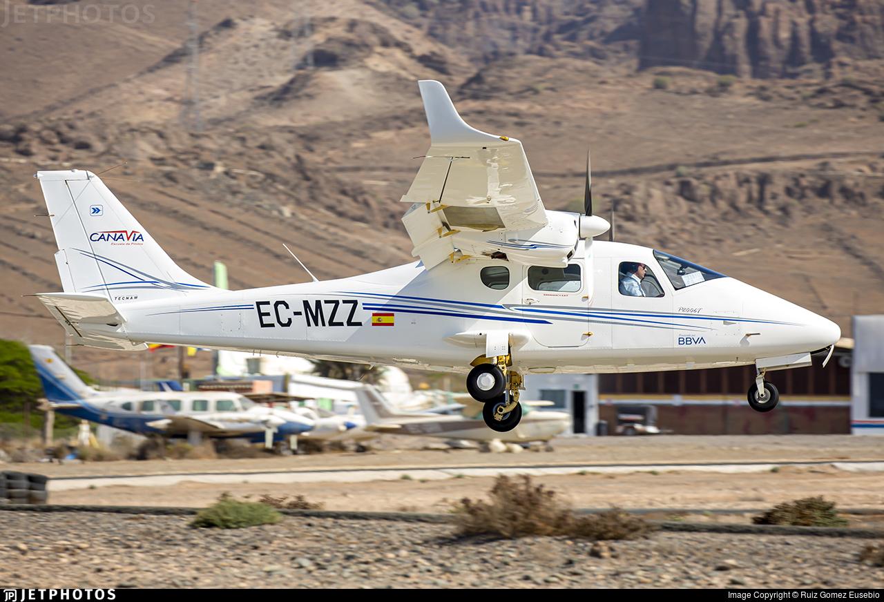 EC-MZZ - Tecnam P2006T - Canavia
